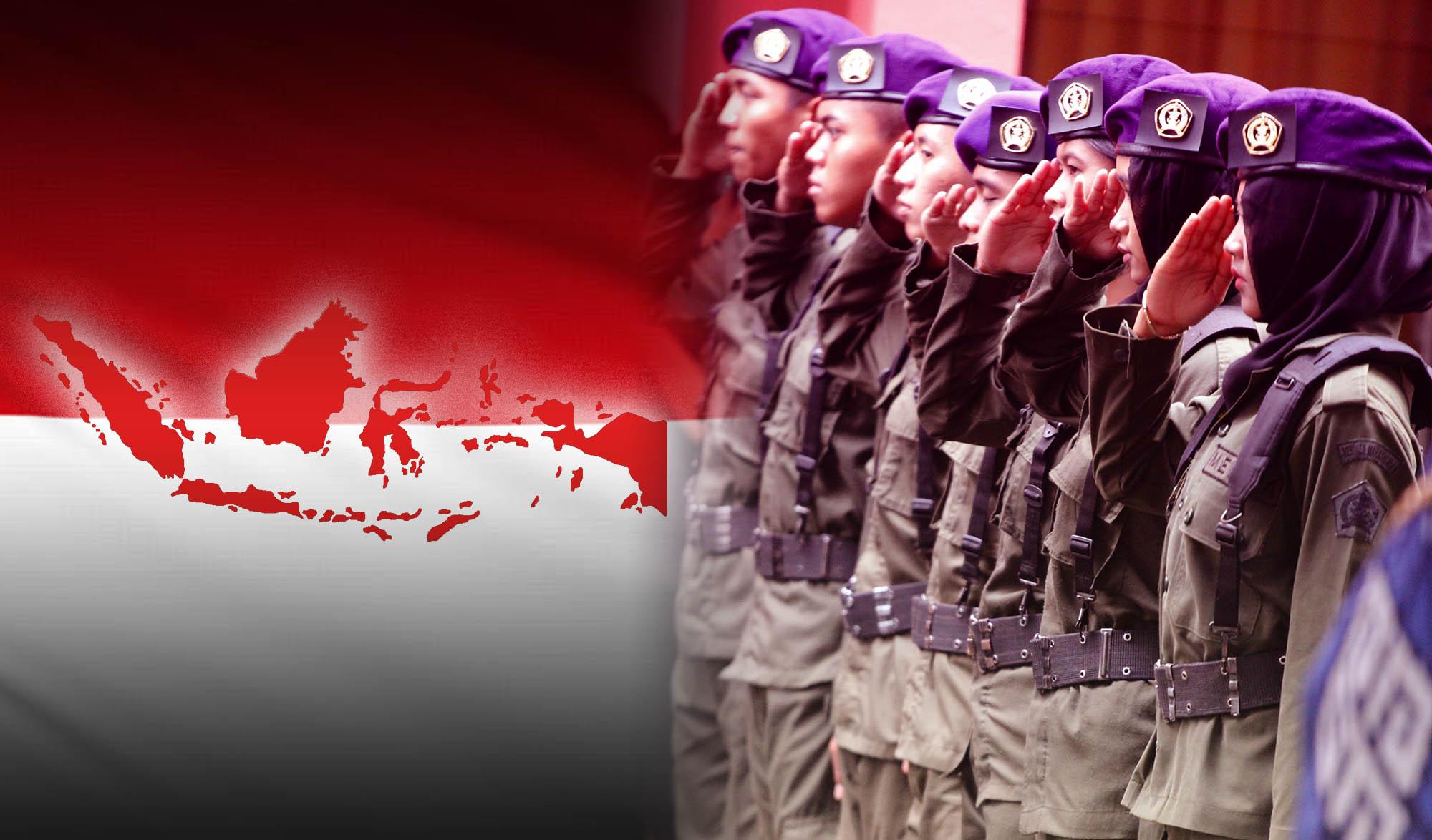 Gerak Jalan Merah Putih Tingkat Nasional